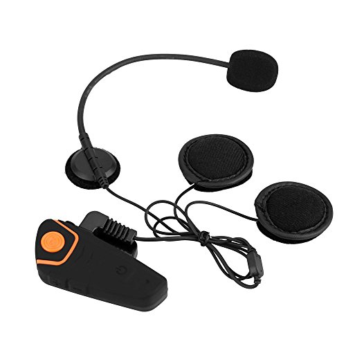 BlueFire Motorcycle Bluetooth 3.0 Communication System with HD Audio and Advanced Noise Control, Motorbike Scooter Bluetooth Helmets Headset/Intercom