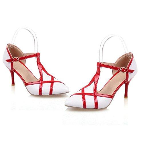 Zanpa Mode Strap Sandali T White 2 Donna w5vtw6qr