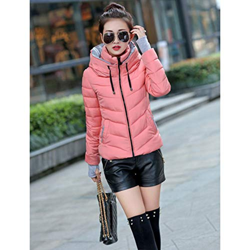 Slim padded Short Spesso Size Donna Down Da Cotton Cappotto Guxiu Coat Invernale Parka Giacche Plus Pink Coats Giacca nqRx8z786