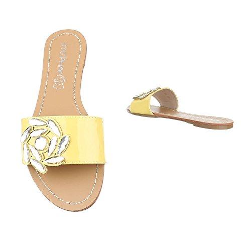 Ital contemporáneo Mujer baile amarillo zapatillas y jazz Design de 6xwqr76v