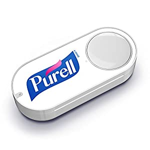 PURELL Hand Sanitizing Wipes Dash Button from Amazon
