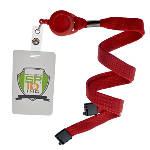 Red Badge Reel and Breakaway Lanyard Combo by Specialist ID, Sold Individually Photo #2