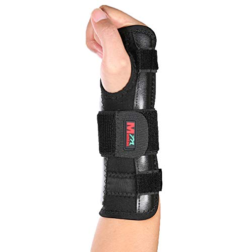 (Carpal Tunnel Night Time Wrist Brace for Left or Right Hand by Carpal Tunnel Solutions- Relief for Cubital Tunnel, Tendonitis, Arthritis, Wrist Sprains, Support Recovery -Black)