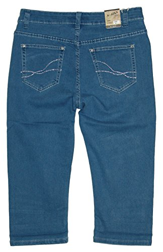 Max Pantalone X Blau 895 Donna capri Jeans pTwqwHx
