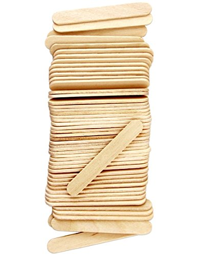 1000 Mini Size Natural Wood Craft Sticks 2.5 Inch