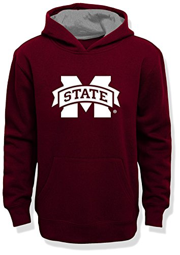 Hoodie Maroon Youth (NCAA by Outerstuff NCAA Mississippi State Bulldogs Kids & Youth Boys
