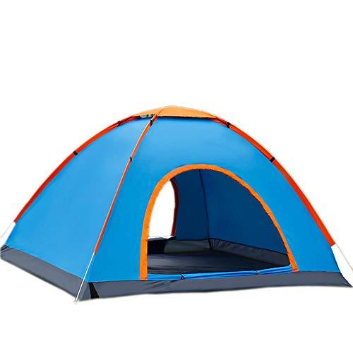 残酷生活成功した屋外テント2秒自動速度オープン自動バウンシングテント2-3-4人キャンプテントは、ビーチテントを構築する必要はありません