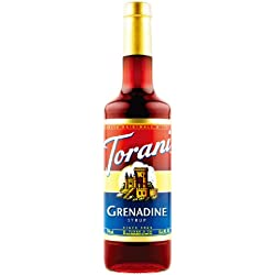 Torani Grenadine Syrup, 750 ml Bottle