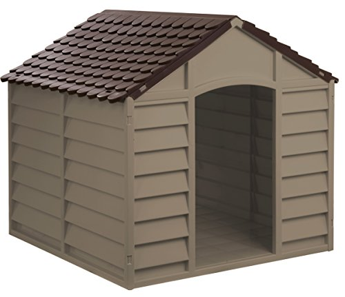 StarPlast Large Dog Kennel | Strong Indoor Outdoor Dog Animal Kennel | Warm Windproof Dog Kennel | Keep Your Pets Safe Dog House | Shed home For Dogs | Big Dog Small Dog | Cat House | Feeding Kennel