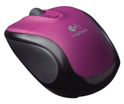 Logitech Cordless Optical Notebooks Purple product image