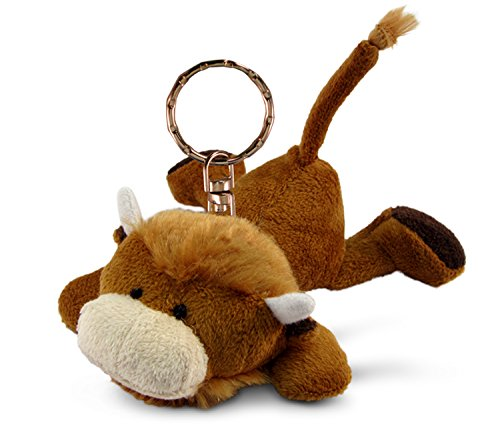 - Puzzled Plush Keychain Buffalo 4 Inch
