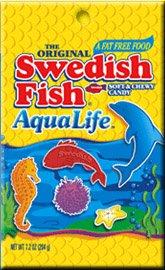 Amazon com : Swedish Fish Aqualife Soft & Chewy Candy, 5