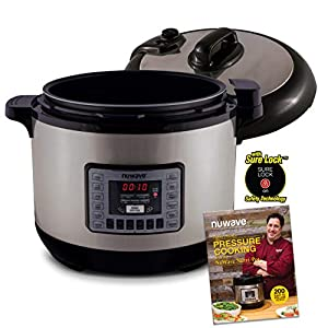 NUWAVE NUTRI-POT 13-Quart DIGITAL PRESSURE COOKER with Sure-Lock Safety System; Dishwasher-Safe Non-Stick Inner Pot… 8
