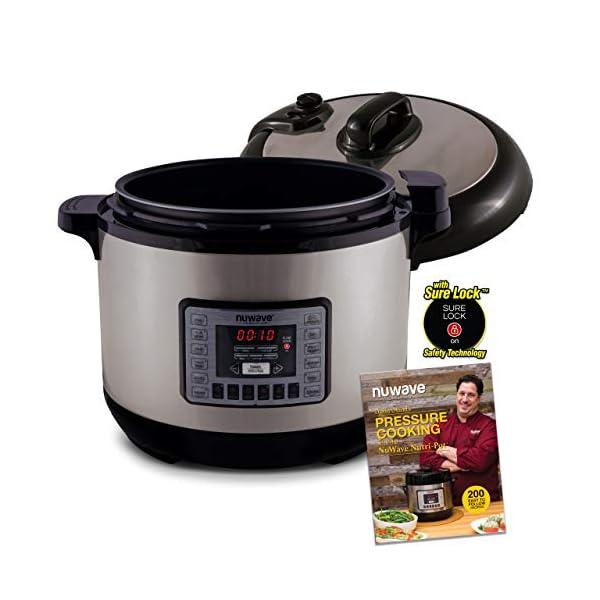 NUWAVE NUTRI-POT 13-Quart DIGITAL PRESSURE COOKER with Sure-Lock Safety System; Dishwasher-Safe Non-Stick Inner Pot… 1