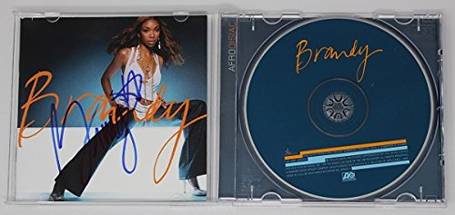 Brandy Norwood Afrodisiac Signed Autographed Music Cd Compact Disc - What A Ray Band Is