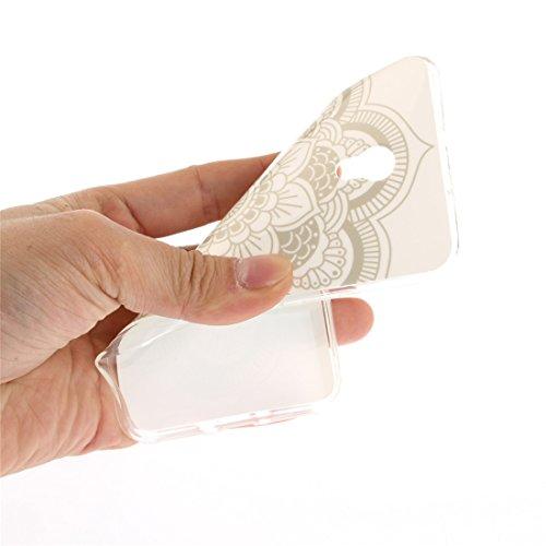 Motif TPU Fit Résistant En Silicone Souple Protection Couverture Transparent Cas De Téléphone ZTE Hozor Slim De Peint Arrière Cas Antichoc Datura V7 Blade Scratch Bord qxaI8wOY