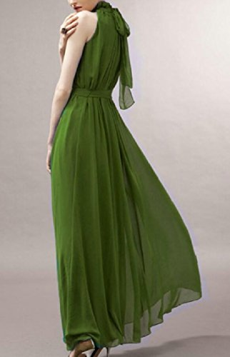 Jaycargogo Demoiselle D'honneur Femmes Robe Longue Robes De Robe Maxi Soirée De Fête 5
