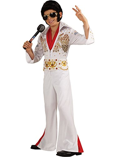 Rubie's Deluxe Elvis Child Costume, Large Size, One Color ()
