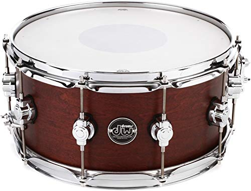 DW Performance Series Satin Snare - Tobacco Stain