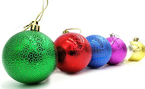 Christmas Ornaments 6ct Shatterproof Christmas Ball Ornaments Decoration, Christmas  Tree Ornament Decorations - Amazon.com: Christmas Ornaments 6ct Shatterproof Christmas Ball