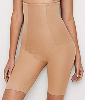 Miraclesuit Women's Extra Firm Shape with an Edge Hi-Waist Long Leg, from Miraclesuit Shapewear