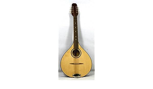 Musikalia Mandolina octavada irlandesa de luthier, fabricada en caoba y con diapasón de 53 cm: Amazon.es: Instrumentos musicales