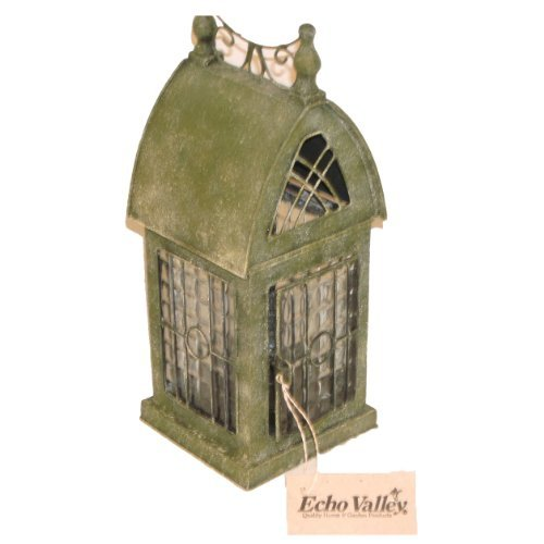 English Durham Lantern Tea Light Candle Holder - ChristmasTablescapeDecor.com