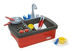 Little tikes splish splash sink stove toys for Kitchen set zabawka