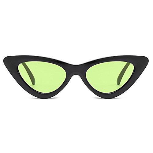 sol de del del C8 triángulo de gato mujeres Gafas Gafas de la del atractivas hibote las sol ojo vendimia espejo de de del color del zEFqx6