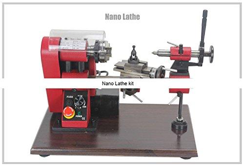 NL1 150W Nano Lathe/SIEG N1 Mini Lathe Machine/100mm Mini metal lathe by MUCHENTEC