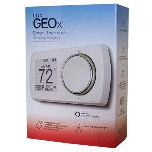 Lux Products GEOx Wi-Fi Thermostat with Humidity Control Compatible with Alexa: Amazon.com: Industrial & Scientific