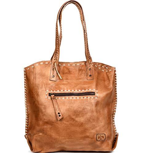 Bed|Stu Women's Barra Leather Tote (Tan Rustic)