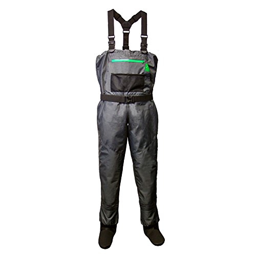 Lone cone women 39 s deluxe breathable waders chest high for Fishing waders amazon