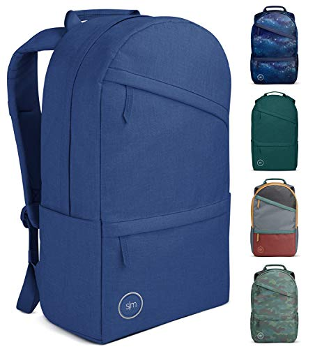 Simple Modern Legacy Backpack with Laptop Compartment Sleeve - 25L Travel Bag for Men & Women College Work School -Twilight