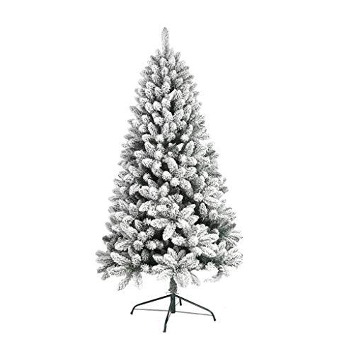 XL- Árbol de Navidad Blanco 90 cm / 120 cm / 150 cm / 180 cm / 210 cm Decoraciones de Navidad Adornos de Cedro (Tamaño :...