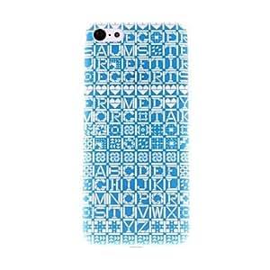 HC- Rayas coloridas Patrón PC caso duro para el iPhone 5C