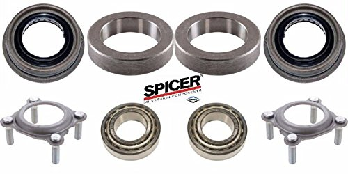 Jeep JK 2007-2017 Wrangler Rear Axle Bearing and Seal Kit - Both Sides
