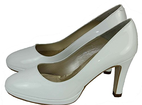 Nina Fiarucci Women's Court Shoes white white