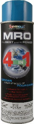 20 Oz. Seymour MRO Spray Paint - MRO Paint: Safety Blue - Pack Of 6