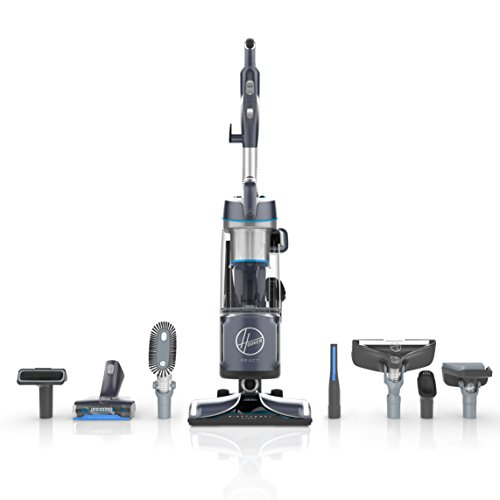 Hoover UH73550PC React Powered Reach Premier Upright Vacuum, Blue