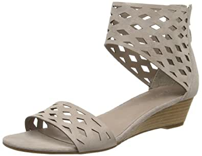 Franco Sarto Women's Union Gladiator Sandal,Grey,9.5 M US