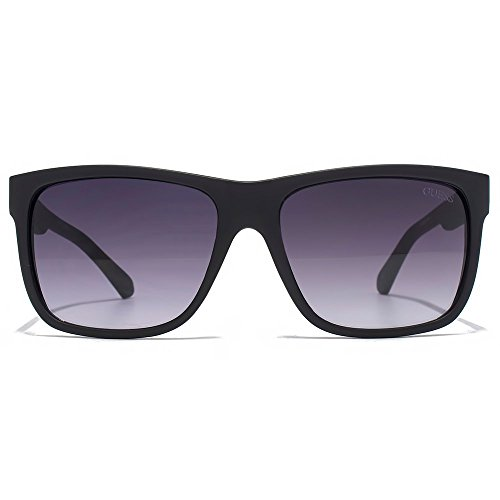 Guess Square Sunglasses in Matte Black GU6838 02B - Glasses Guess