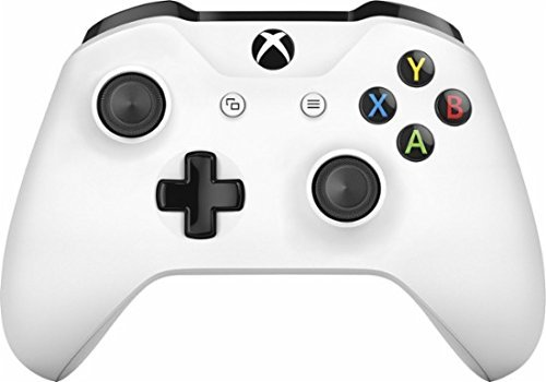 White Xbox One S / X Rapid Fire Custom Modded Controller 40 Mods for All Major Shooter Games WW2 (with 3.5 jack)