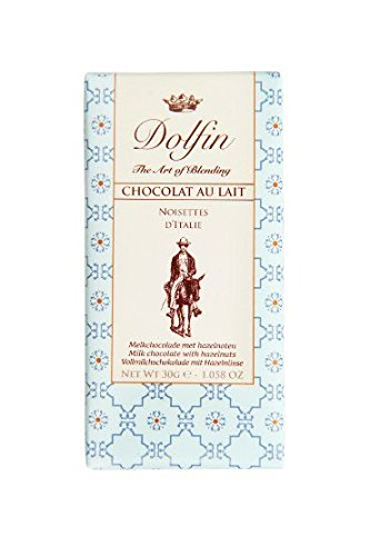 Dolfin Chocolate con Leche y Nueces de Italia - 30 gr: Amazon.es: Alimentación y bebidas