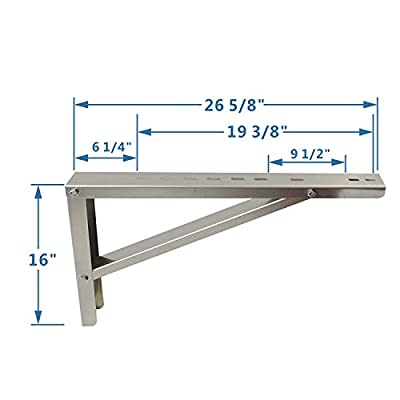 Mini Split Wall Mounting Bracket for Ductless Air Conditioner Condensers