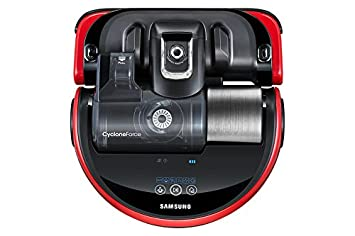 Samsung SR20J9020U Sin bolsa 0.7L Negro, Rojo aspiradora robotizada - Aspiradoras robotizadas (Sin bolsa, Negro, Rojo, Forma en D, LED, 0,7 L, 76 dB)