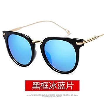 Llztyj Sonnenbrillerunde Rahmen Brille Frau Polarisierte