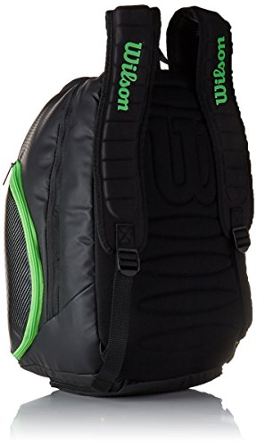 Wilson Blade Collection Racket Backpack, Blackgreen