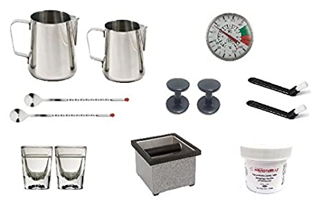 Amazon.com: Nuova Simonelli Appia II Volumetric 3 Group Espresso Machine MAPPIA5VOL03ND001 with Free Espresso Starter Kit and 3M Water Filter System: ...