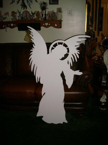 Life Size Angel for MyNativity Outdoor Nativity Set (3 sizes available) by MyNativity (Image #4)